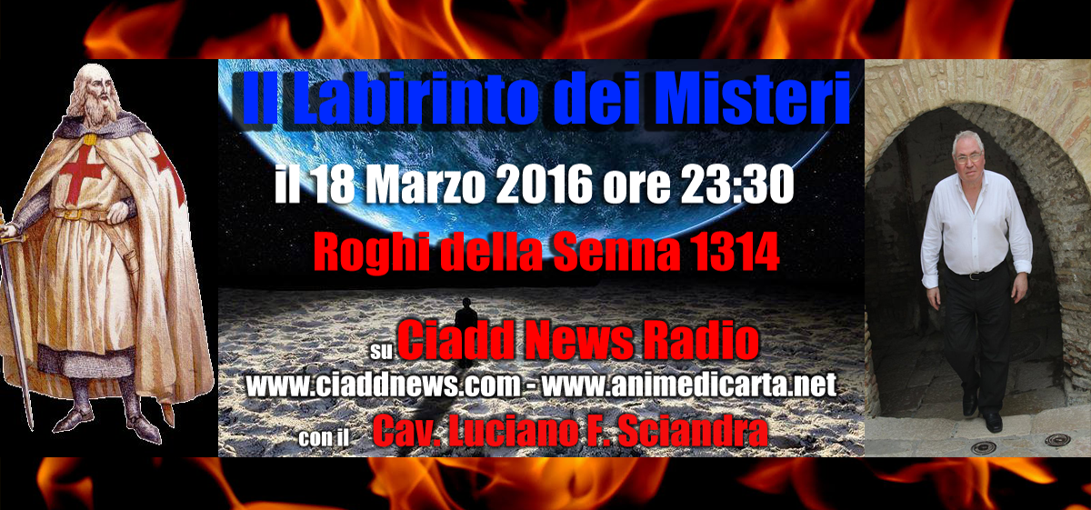 Locandina 18 Marzo 2016 Ciadd News Radio