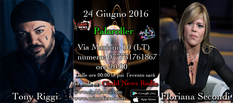 TONY RIGGI E FLORIANA SECONDI SU CIADD NEWS RADIO