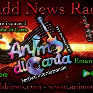 In RADIO :) 16 Giugno 2019 - Festival ANIME di CARTA presentato da Emanuela Petroni al Boogie Club