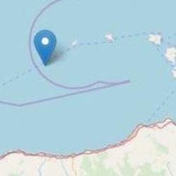 Terremoto di magnitudo 3.8 al largo delle Eolie Mappa