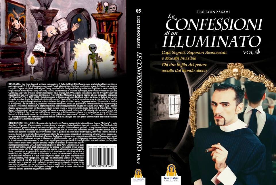 Le Confessioni di un Illuminato Vol. 4 Leo Lyon Zagami