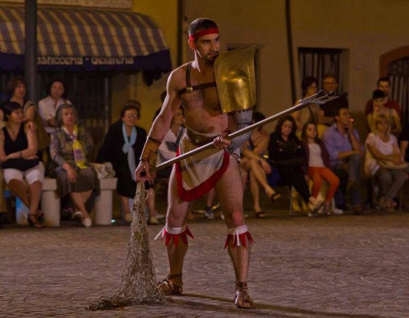Gladiatore Reziario