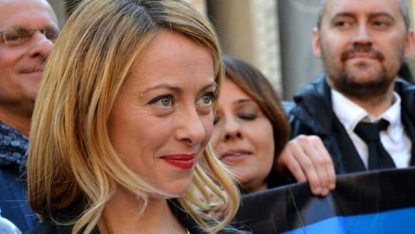E' nata la figlia di Giorgia Meloni: si chiama Ginevra