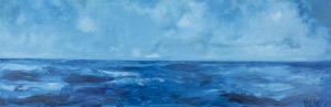 Libertà- 2016 olio su tela cm 50 x 150
