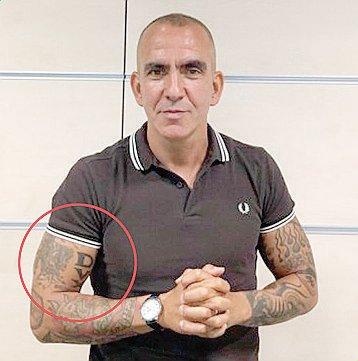 Tatuaggio 'Dux' sul braccio, Sky sospende Di Canio