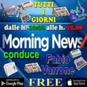 Ciadd News Morning News 24 Gennaio 2016