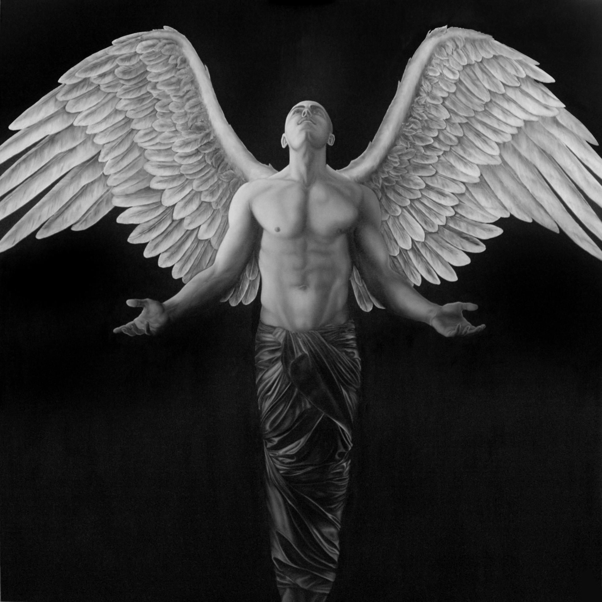 accoglienza_dipinto_bn_angelo