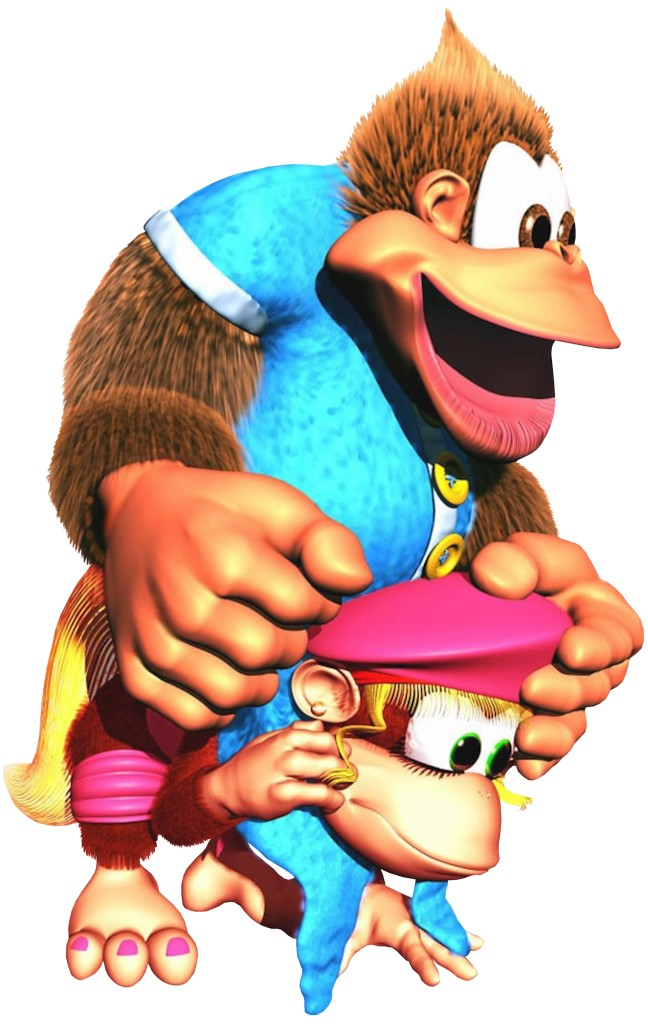 kiddy_on_dixie_artwork_-_donkey_kong_country_3