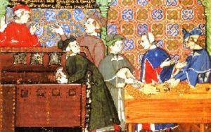 i banchieri nel medioevo, al tempo dei Templari