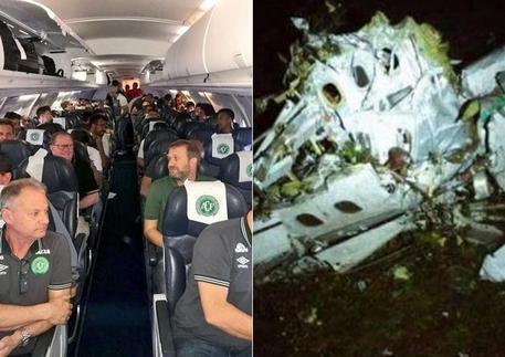 Colombia, aereo precipita: 76 morti. A bordo squadra di calcio brasiliana. Cinque sopravvissuti