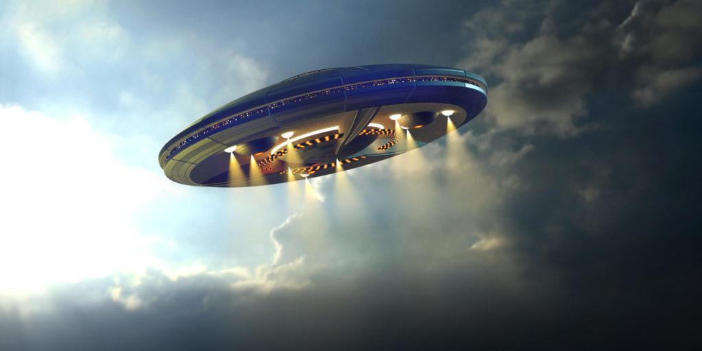 Alien UFO saucer