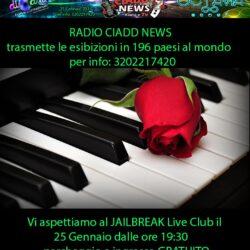 "25 Gennaio 2017 - Rassegna ""Musica e Arte senza censure"" al Jailbreak"