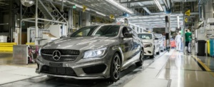 Produktion CLA Shooting Brake, Fertigfahrzeug CLA Shooting Brake production, finished vehicle