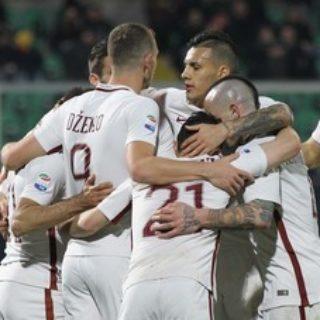 Palermo-Roma 0-3: El Shaarawy, Dzeko e Bruno Peres calano il tris