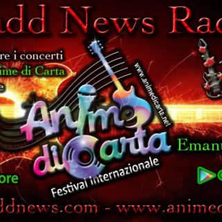 In RADIO :) 20 Marzo 2019 - Festival ANIME di CARTA presentato da Emanuela Petroni al Let It Beer