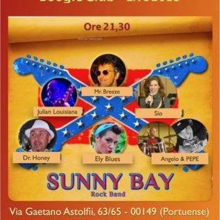 Emanuela Petroni presenta i Sunny Bay live il 14 febbraio 2018 al Boogie Club