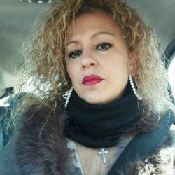 """EMANUELA PETRONI presenta la bellissima CRISTINA MORETTI sul RED CARPET del """"Rock'n'Roll Garden"""" di Roma per il Festival internazionale ANIME di CARTA"""