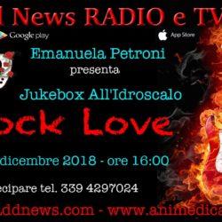 """La direttrice artistica Emanuela Petroni presenta JUKEBOX ALL'IDROSCALO su """"Ciadd News RADIO e TV"""" nella trasmissione ROCK LOVE"""