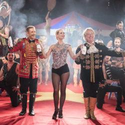 La sigla del trentennale di Striscia la Notizia girata al Piccolo Circo dei Sogni