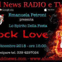 """La direttrice artistica Emanuela Petroni presenta LO SPIRITO DELLA FESTA su """"Ciadd News RADIO e TV"""" nella trasmissione ROCK LOVE"""