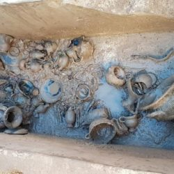 Importante scoperta archeologica durante lavori per fogna bianca