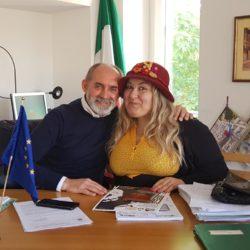 In TV su Rete Oro - Emanuela Petroni intervista il Sindaco di Cantalupo PAOLO RINALDUZZI