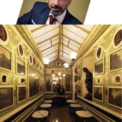 """ROMA. LO SFRATTO DEL CAFFÈ GRECO, PAOLO BATTAGLIA LA TERRA BORGESE, """"L'EGOISMO È LA CAUSA DI TUTTE LE SOFFERENZE DELL'UOMO"""""""