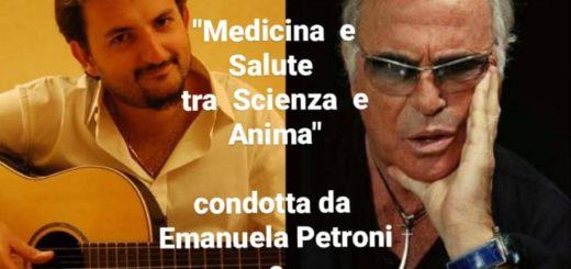 MEDICINA e SALUTE tra Scienza e Anima di EMANUELA PETRONI - 20° puntata dedicata a FRANCO CALIFANO con VINCENZO BRUNO