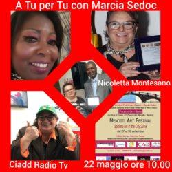 Marcia Sedoc A TU per TU con Nicoletta Montesano - Paesi Uniti della Sabina - Ciadd News Radio e TV