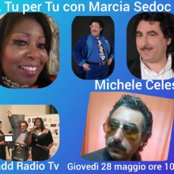 Marcia Sedoc A TU per TU con Michele Celeste Attore - Paesi Uniti della Sabina Ciadd News Radio e TV