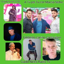 A TU per TU con Marcia Sedoc e Umberto Canino cantautore producer