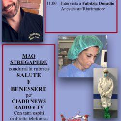 Salute e Benessere conduce Mao Stregapede - Fabrizia Donadio (anestesista-Rianimatrice)