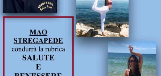 Salute e Benessere conduce Mao Stregapede con Florinda Abatecola Insegnante Yoga