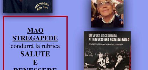Salute e Benessere conduce Mao Stregapede con MAURO BARRERAS Maestro di Tango Argentino e Pittore