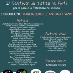 Marcia Sedoc e Antonio Fazio presentano Il Festival di tutte le Art special guest Emanuela Petroni report a cura di Ciadd News RADIO e TV e Paesi Uniti della Sabina