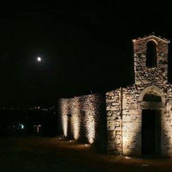 Contigliano 10 Agosto. Sito archeologico di San Lorenzo, ove sorge l'antica Chiesa alto-medievale. Millenaria spiritualità pagana e cristiana.