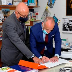 IL CRITICO D'ARTE PAOLO BATTAGLIA LA TERRA BORGESE FIRMA LA CRITICA DI UN'OPERA DONATA AGLI ITALOAMERICANI