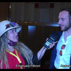 ANDREA DALFINO intervistato da Emanuela Petroni in TV su Canale Italia 11 per Pet Carpet Film Festival