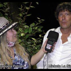 MICHELE LA GINESTRA intervistato da Emanuela Petroni in TV su Canale Italia 11