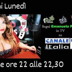 Emanuela Petroni presenta  1° PUNTATA - CANALE ITALIA 11 - 2 Novembre 2020