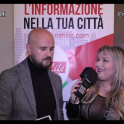 EMILIANO  GRILLOTTI direttore di Rietilife intervistato da Emanuela Petroni in TV su Canale Italia 11