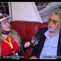 MAURIZIO MATTIOLI intervistato da Emanuela Petroni in TV su Canale Italia 11 per Pet Carpet Film Festival