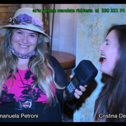 Emanuela Petroni presenta CRISTINA DE FELICI in TV su Canale Italia 11