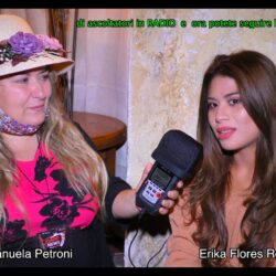 Emanuela Petroni presenta ERIKA FLORES RODRIGUEZ in TV su Canale Italia 11