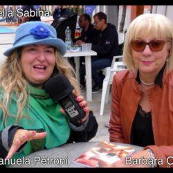 Emanuela Petroni presenta in TV Barbara Oliva - Circo Massimo - Paesi Uniti della Sabina