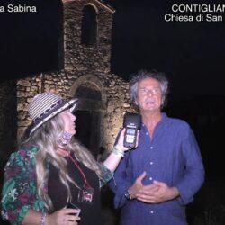 Emanuela Petroni presenta PAOLO LANCIA Sindaco di Contigliano ( Rieti ) - Chiesa di San Lorenzo