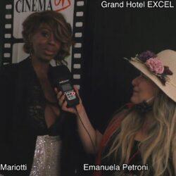 Emanuela Petroni presenta in TV - Sarajò Mariotti - Grand Hotel Excel Roma Ciampino Moda