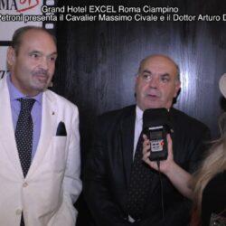 Emanuela Petroni presenta il Cavalier Massimo Civale e Dottor Arturo Di Mascio - Excel Roma Ciampino