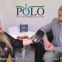 Emanuela Petroni intervista Federico Fracassini - Polo Sviluppo Impresa e Lavoro - Viterbo