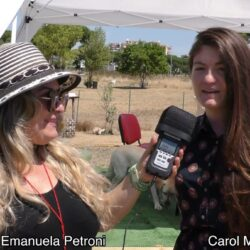 Emanuela Petroni intervista Carol Maritato - #iononliabbandono - Pet Carpet Film Festival